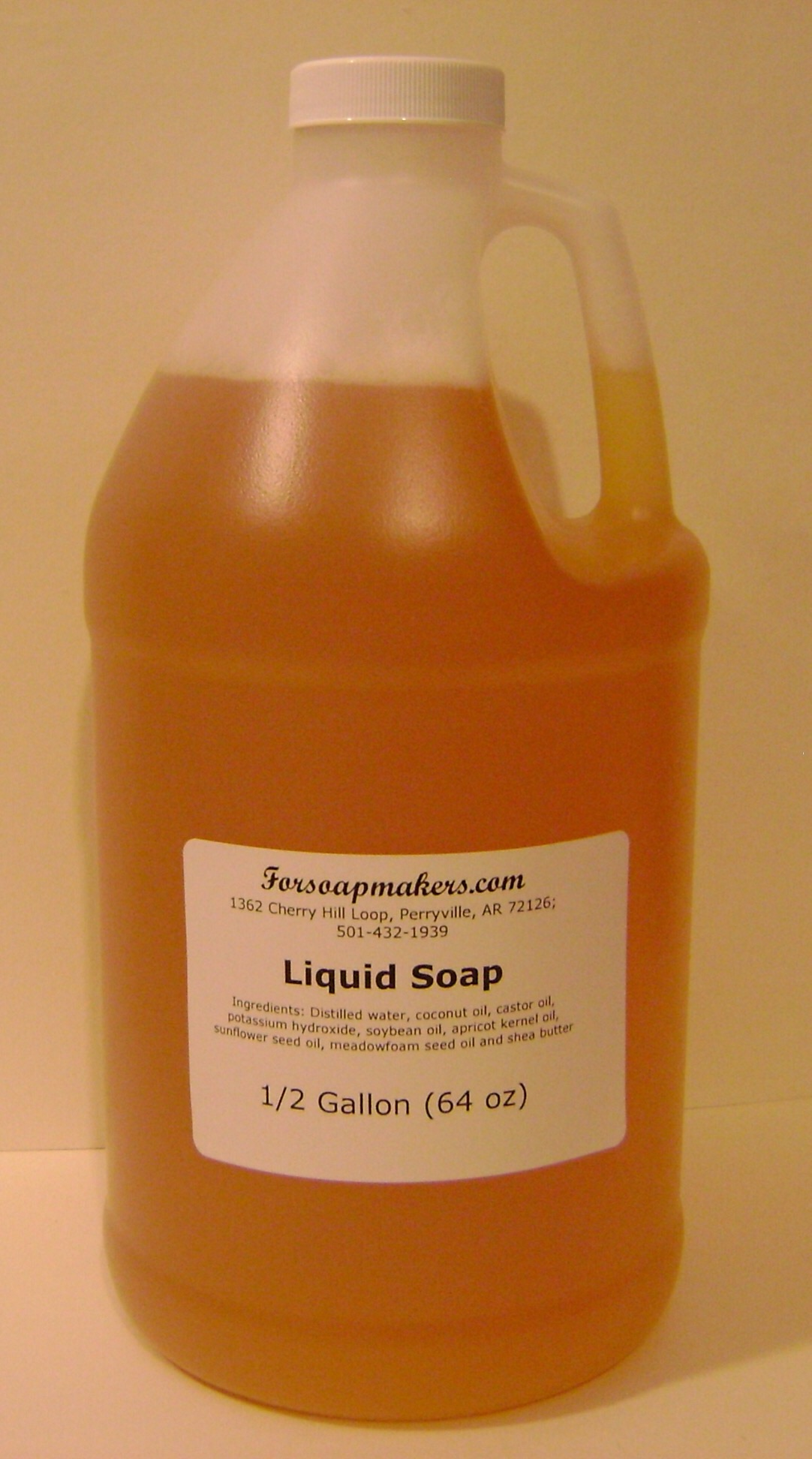 Liquid Soap - 1/2 gallon