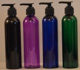 8 oz Cylinder PET Bottle